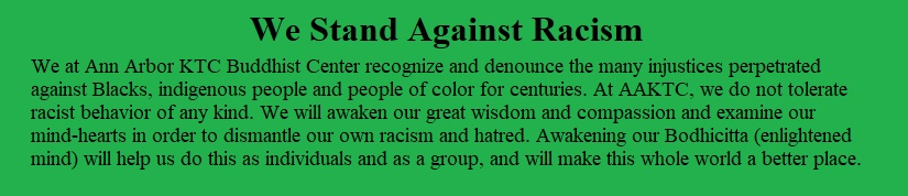 AAKTC Stands against racism